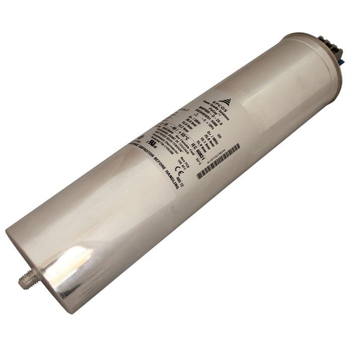 Blindstromkondensator 3 Phasen 3x 61,5µF 25kvar 600V Epcos B32344E62151A000