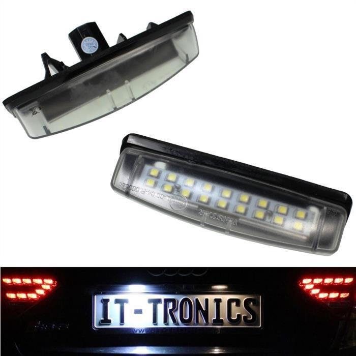 Kennzeichenbeleuchtung LED passend für Toyota Camry Verso Prius, Lexus Is/Ls/Gs