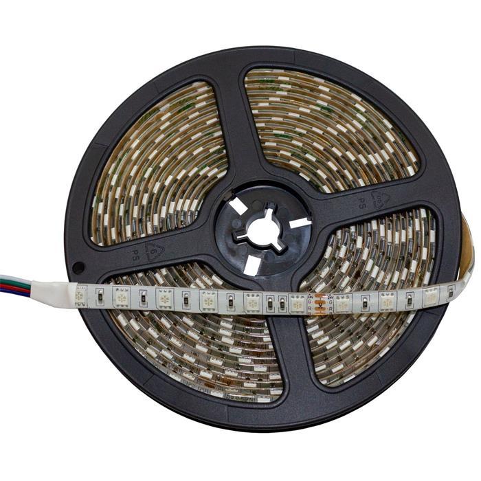 5m (500cm) RGB LED Streifen Band Leiste 24V IP65 300LEDs 60LED/m SMD5050