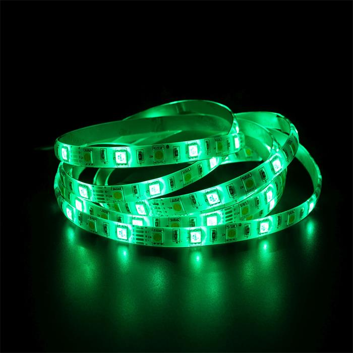 RGBWW RGB+WW 3000K LED Streifen Band Leiste 5m ; 12V IP65 300LEDs 5050