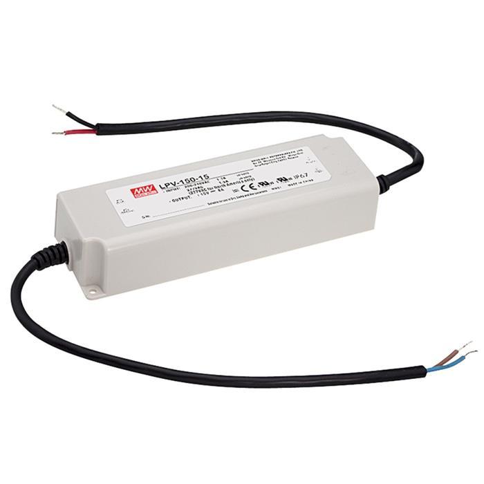 LED Netzteil 120W 12V 10A ; MeanWell, LPV-150-12 ; Schaltnetzteil