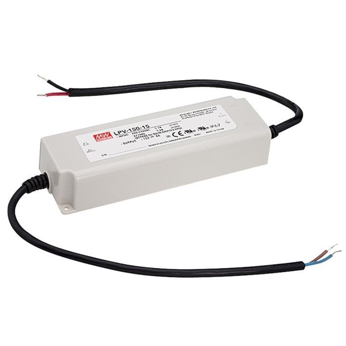 LED Netzteil 120W 15V 8A ; MeanWell, LPV-150-15 ; Schaltnetzteil