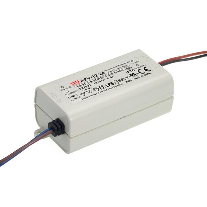 LED Netzteil 10W 5V 2A ; MeanWell, APV-12-5 ; Schaltnetzteil