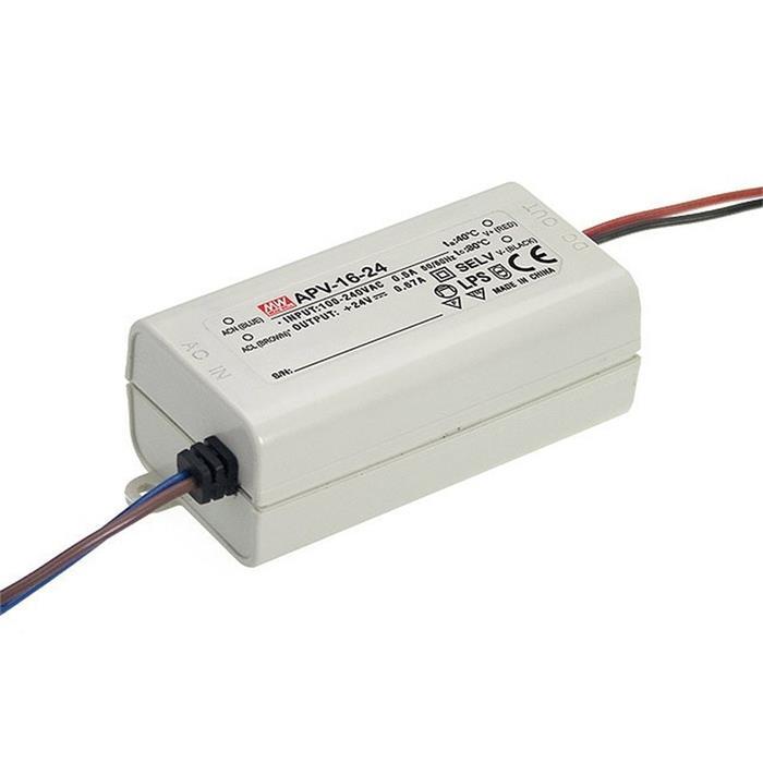 MeanWell APC-16-350 16W 350mA 12...48VDC Konstantstrom LED Netzteil