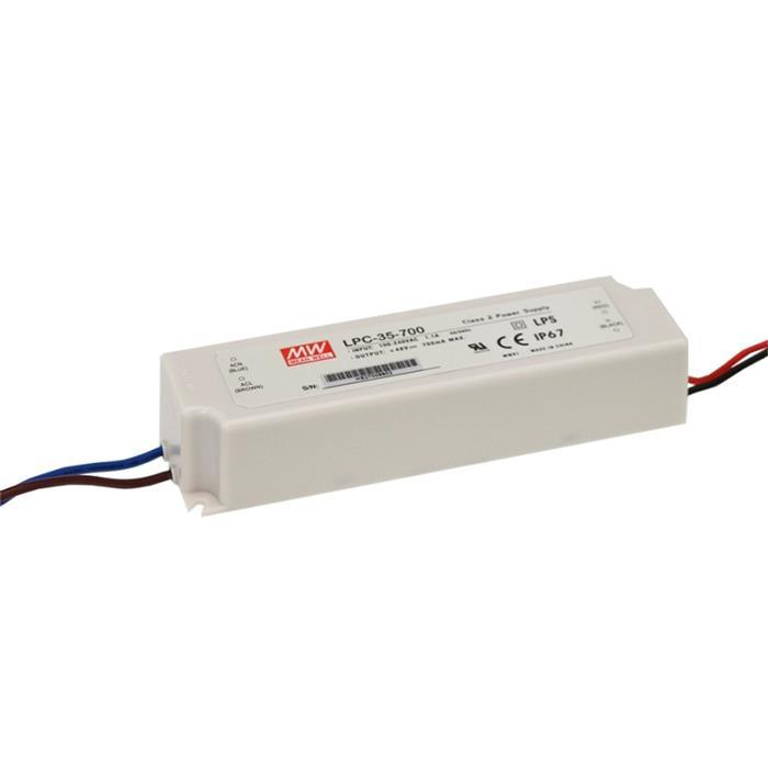 LED Netzteil 32W 6-30V 1050mA ; MeanWell, LPC-35-1050 ; Konstantstrom