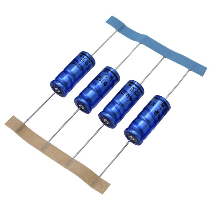 Elko Kondensator axial 470µF 25V 125°C ; MAL211890508E3 ; 470uF