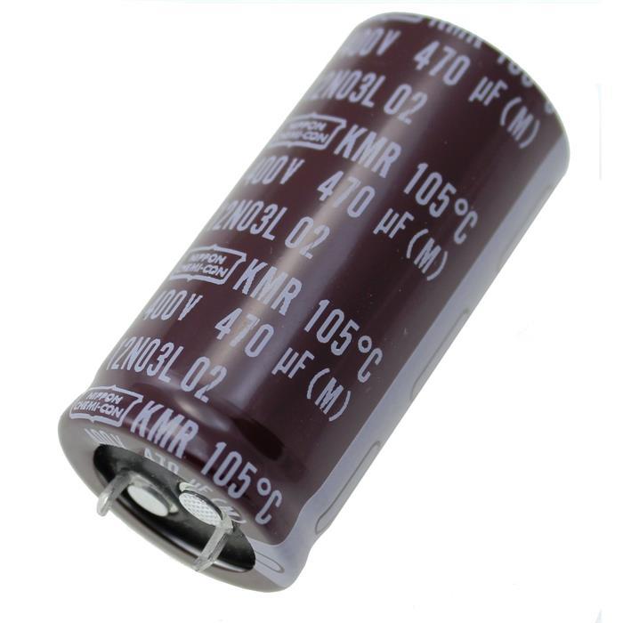 Snap-In Elko Kondensator 470µF 400V 105°C ; EKMR401VSN471MQ50S ; 470uF