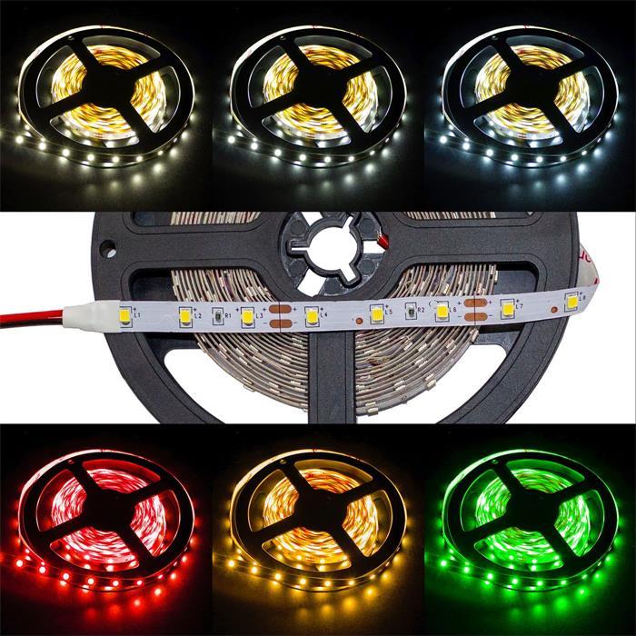 5m (500cm) LED Streifen Band Leiste 24V IP20 300LEDs 60LED/m SMD2835