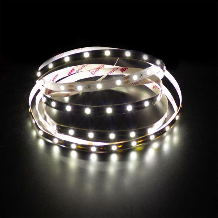 LED Streifen Band Leiste 500cm 5m ; 24V IP20 300LEDs ; Neutral Weiß 4500K