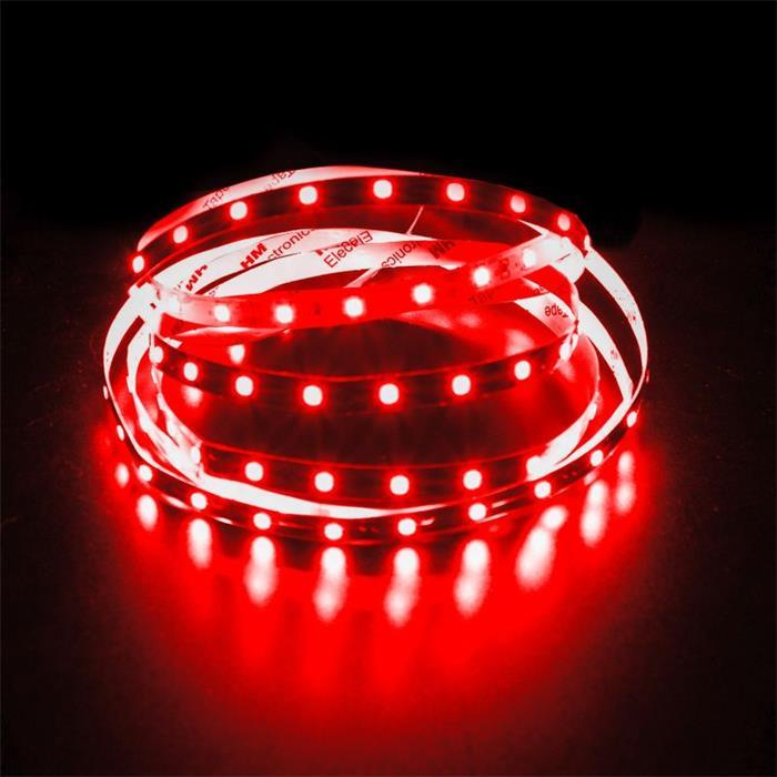 LED Streifen Band Leiste 500cm 5m ; 24V IP20 300LEDs ; Rot