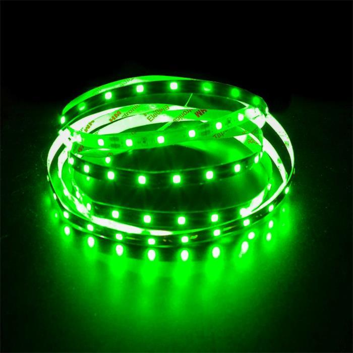 5m (500cm) LED Streifen Band Leiste 24V Grün IP20 300LEDs 60LED/m SMD2835