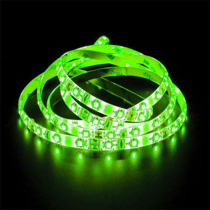 LED Streifen Band Leiste 500cm 5m ; 24V Wasserfest IP65 300LEDs ; Grün