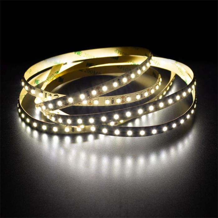 5m (500cm) LED Streifen Band Leiste 24V Neutral-Weiß 4500K IP20 600LEDs 120LED/m SMD2835
