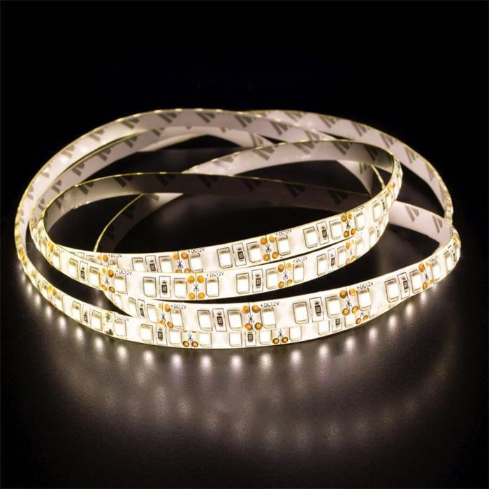 LED Streifen Band Leiste 500cm 5m ; 24V IP65 600LEDs ; Warm Weiß 3000K