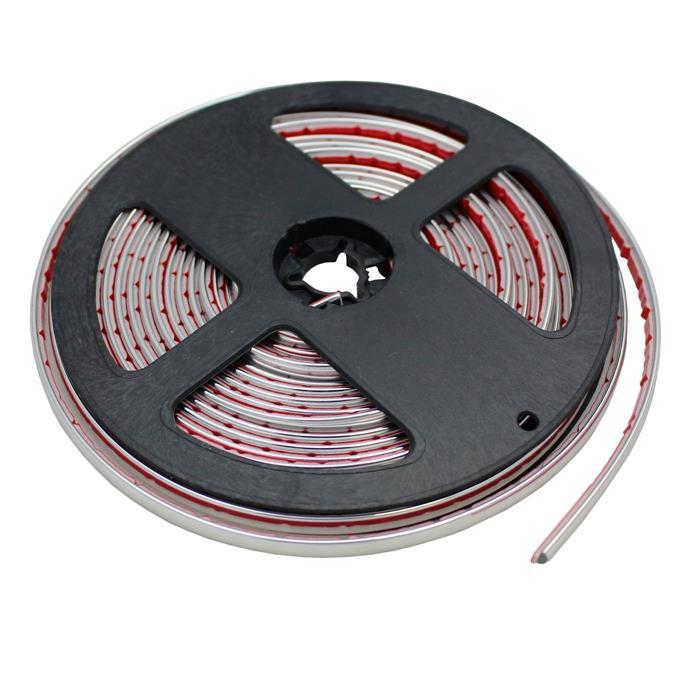 Chrom Zierleiste 6mm x 5m Auto Chromleiste Universal Selbstklebend Flexibel