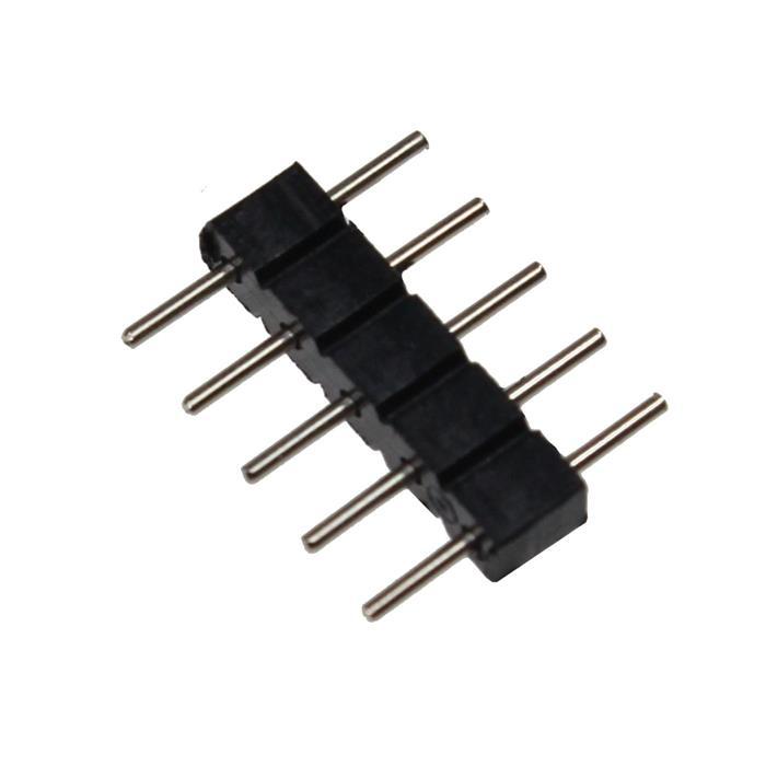 LED Steckbrücke RGBW RGBWW 5 PIN Verbinder Adapter Kupplung Steckverbinder