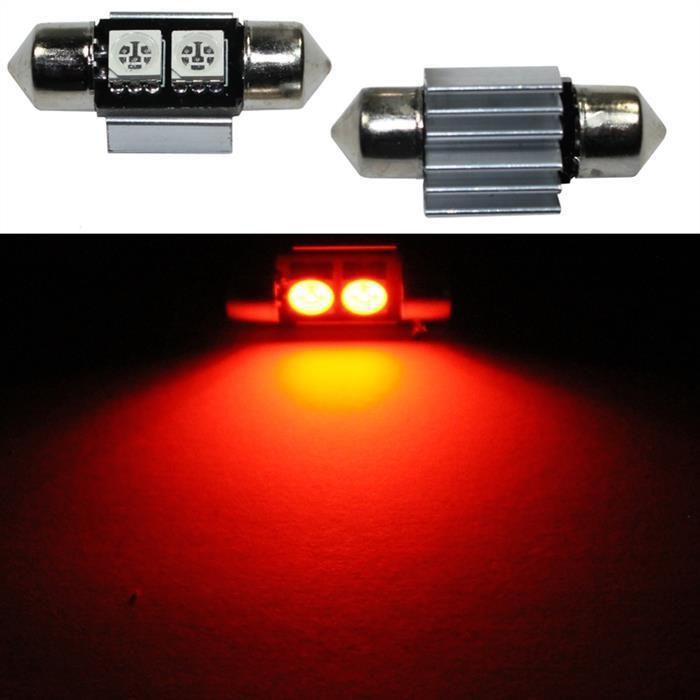 LED Soffitte 31mm C5W ORANGE Canbus Innenraum- und Deko-Beleuchtung