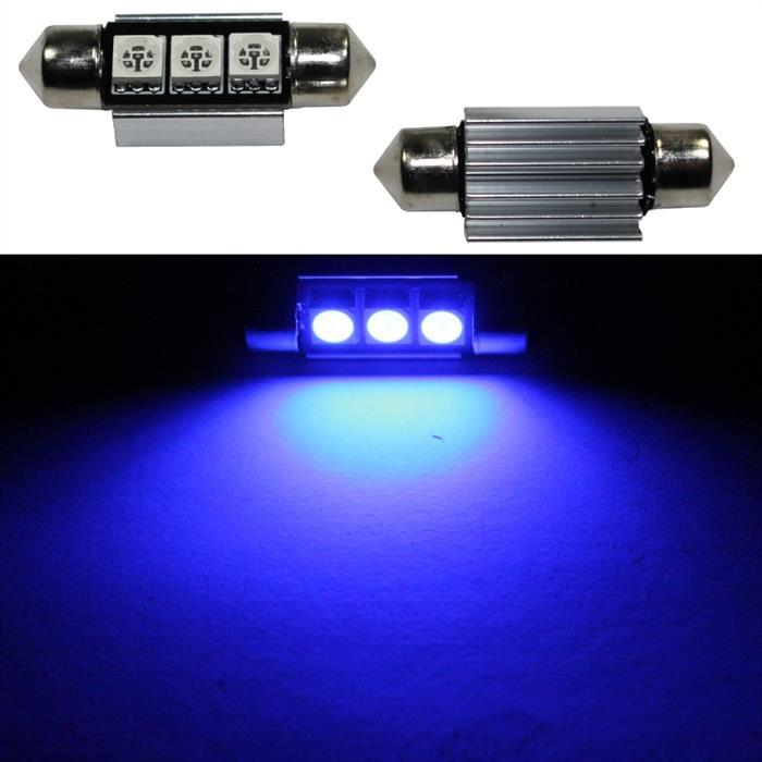 LED Soffitte 36mm C5W BLAU Canbus 12V Innenraum- und Deko-Beleuchtung