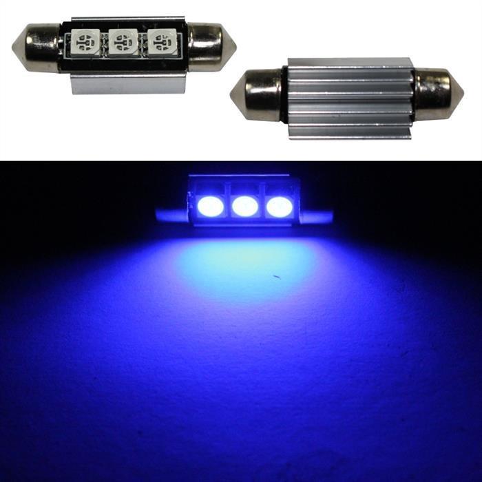 LED Soffitte 39mm C5W BLAU Canbus 12V Innenraum- und Deko-Beleuchtung