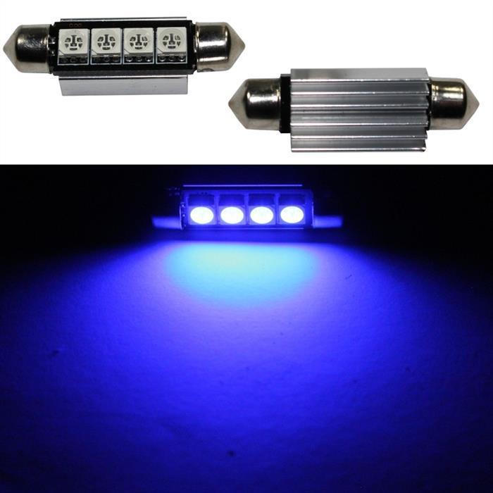 LED Soffitte 42mm C10W BLAU Canbus Innenraum- und Deko-Beleuchtung