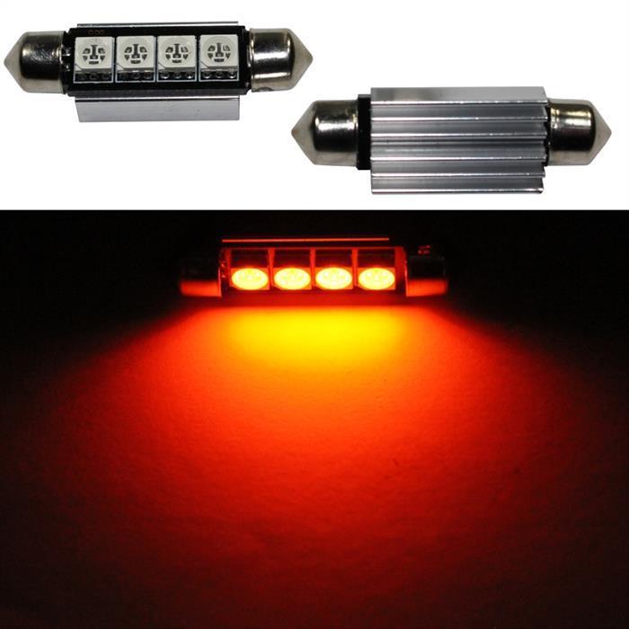 LED Soffitte 42mm C10W ORANGE Canbus Innenraum- und Deko-Beleuchtung