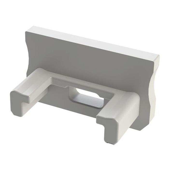 Endkappe für Lumonic Typ A LED Profile Halter Kunststoff Weiß