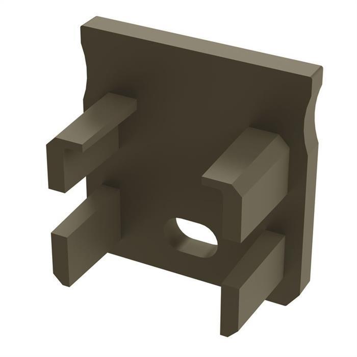 Endkappe für Lumonic Typ Y LED Profile Halter Kunststoff Inox