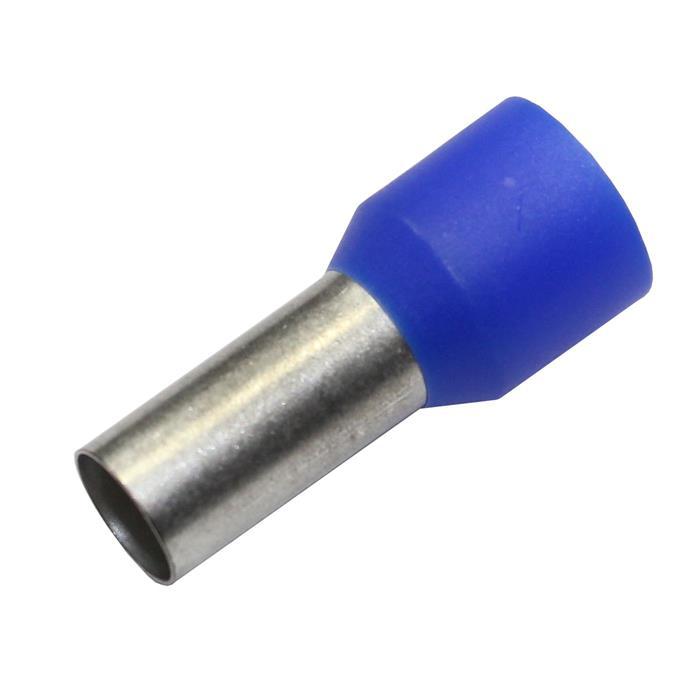 100x Aderendhülsen isoliert 16,0mm² / 12mm blau ; 16mm²
