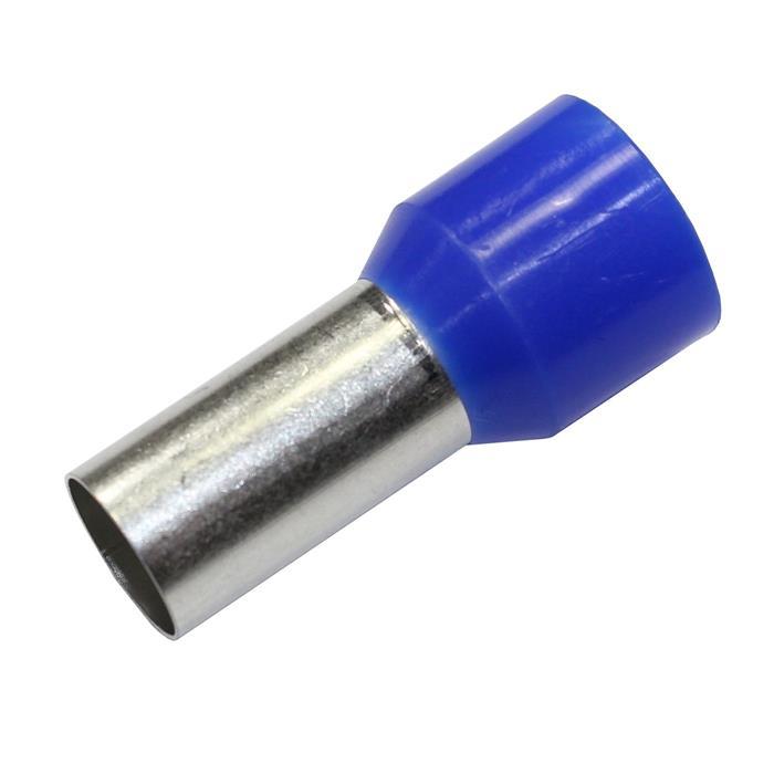 50x Aderendhülsen isoliert 50,0mm² / 20mm blau ; 50mm²