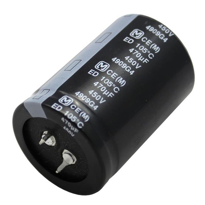 Snap-In Elko Kondensator Radial 470µF 450V 105°C EETED2W471LA 35x50mm 470uF