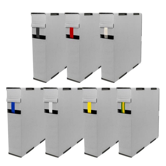 11,5m Schrumpfschlauch Box 2:1 2,4 -> 1,2mm Transparent Flexibel