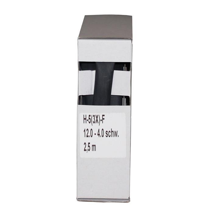 Schrumpfschlauch mit Kleber 2,5m ; 3:1 12,0mm - 4,0mm ; Schrumpf Schlauch