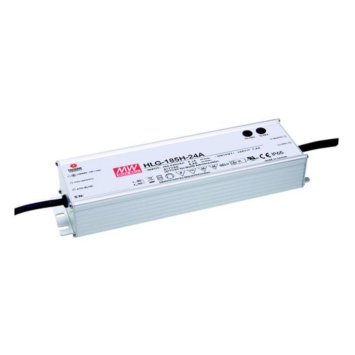LED Netzteil 187W 24V 7,8A ; MeanWell HLG-185H-24A ; Schaltnetzteil