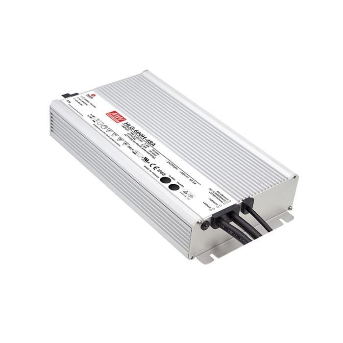 LED Netzteil 480W 12V 40A ; MeanWell HLG-600H-12A ; Schaltnetzteil