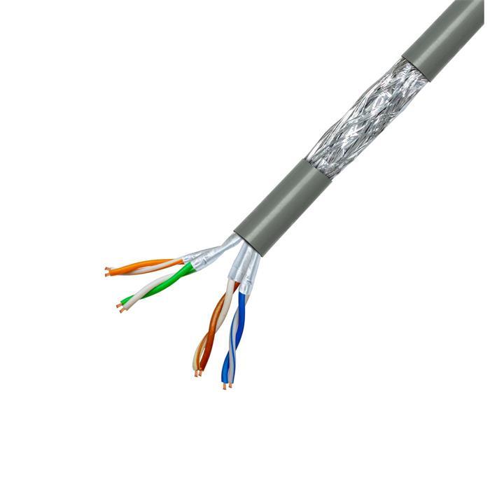 100m Netzwerkkabel Verlegekabel CAT6 S/FTP PIMF Ethernet Kabel CAT6 CAT.6
