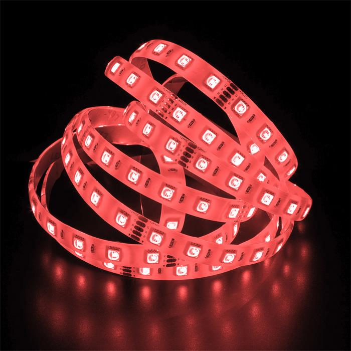 5m (500cm) RGBWW 3000K 4in1 LED Streifen Band Leiste 24V IP65 300LEDs 60LED/m SMD5050