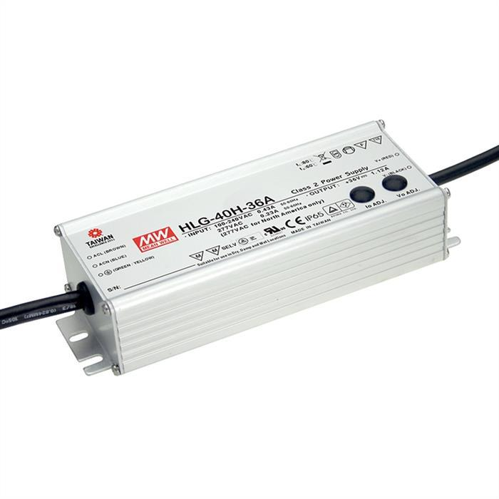 MeanWell HLG-40H-12A 40W 12V 3,33A LED Netzteil IP65