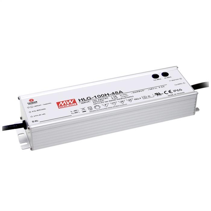 LED Netzteil 96W 24V 4A ; MeanWell HLG-100H-24A ; Schaltnetzteil