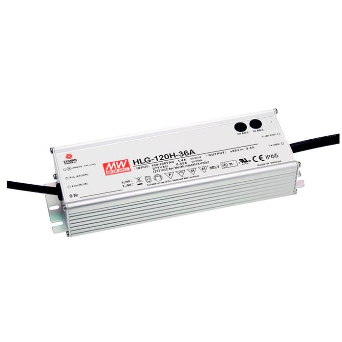 MeanWell HLG-120H-36A 122W 36V 3,4A LED Netzteil IP65