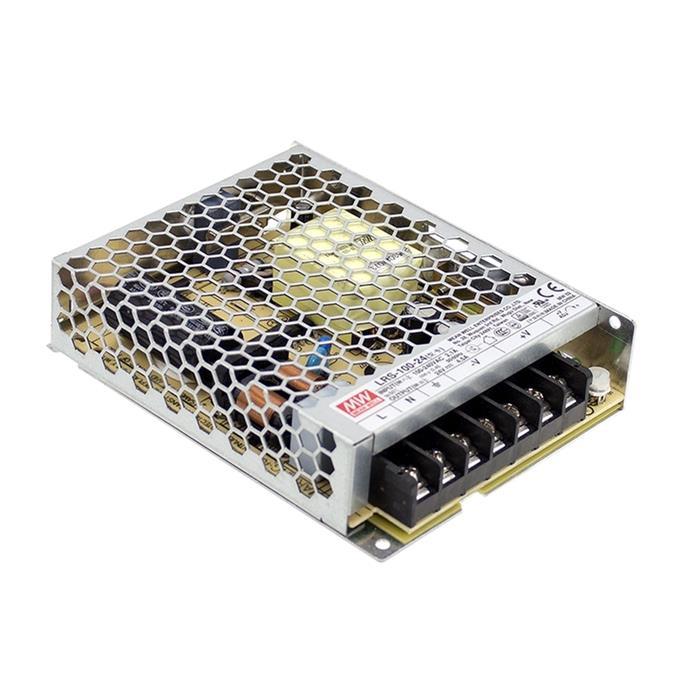 Schaltnetzteil / Netzteil 100W 36V 2,8A ; MeanWell LRS-100-36 ; Trafo Treiber