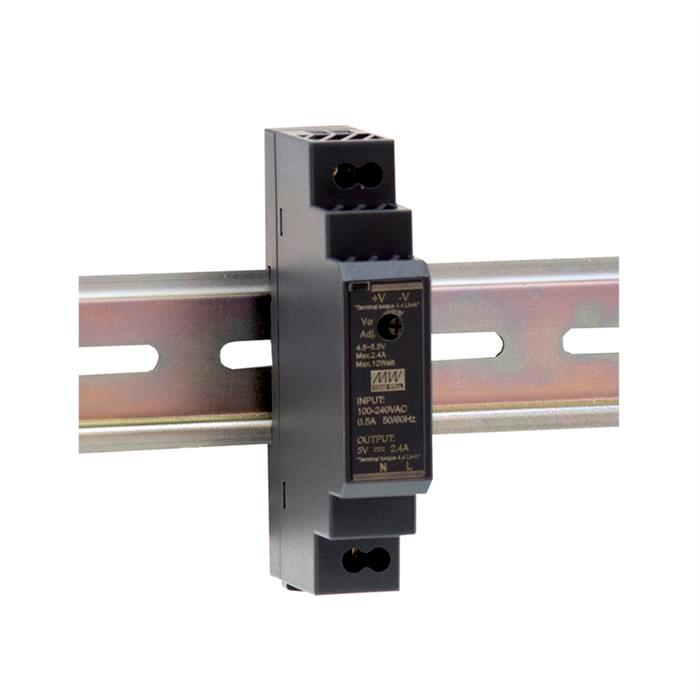 MeanWell HDR-15-5 12W 5V 2,4A Hutschienen Netzteil DIN-RAIL