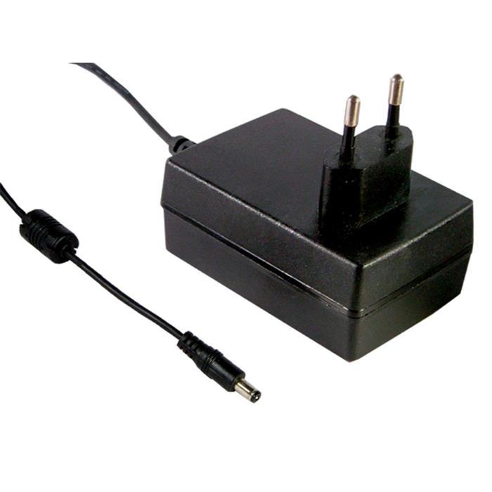 Steckernetzteil 25W 24V 1,04A ; MeanWell GS25E24-P1J ; EU-Plug 5,5/2,1mm