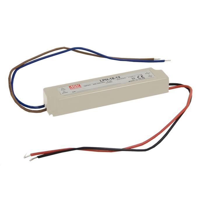 LED Netzteil 18W 24V 0,75A ; MeanWell LPH-18-24 ; Schaltnetzteil