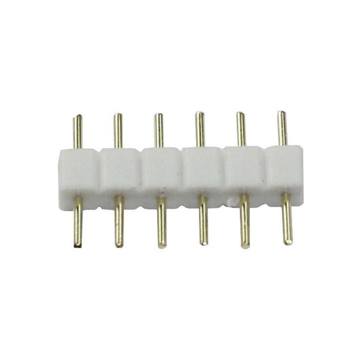 LED Steckbrücke RGBW+WW CCT 6 PIN Verbinder Adapter Kupplung Steckverbinder