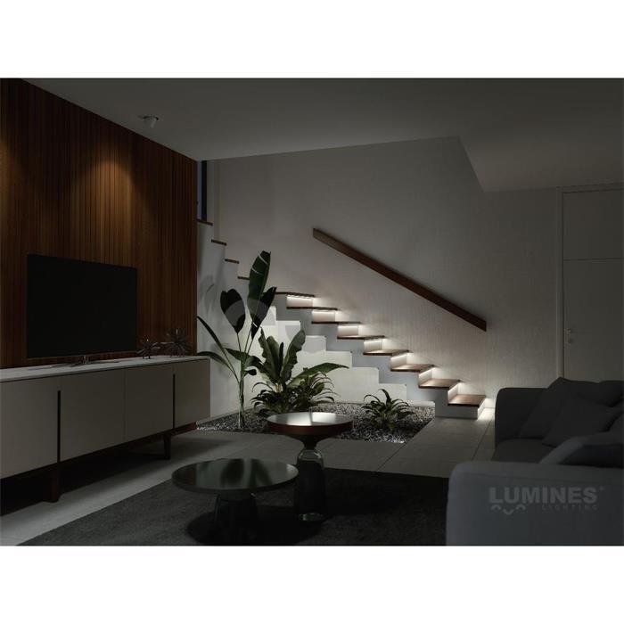 led aluminium profil 1m 17x17mm 30 60 typ h alu schiene f r led streifen. Black Bedroom Furniture Sets. Home Design Ideas