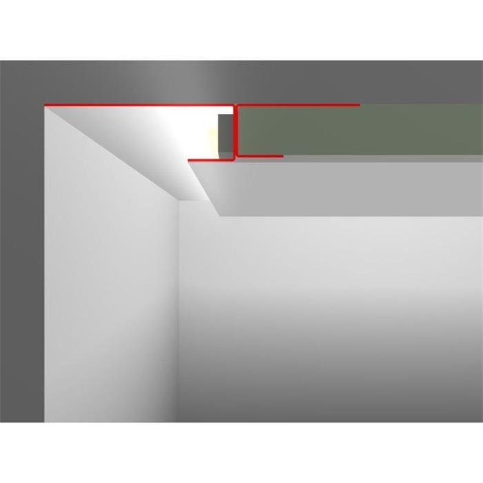 led trockenbau profil snl mit sichtschenkel 20 80mm l nge 2m rigips. Black Bedroom Furniture Sets. Home Design Ideas