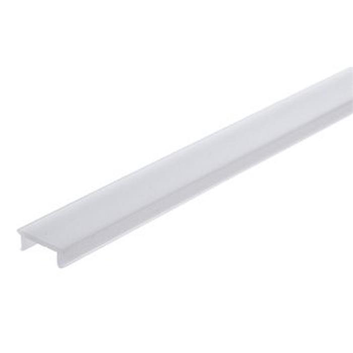 Kunststoffabdeckung Opalweiß für Trockenbau / Putzprofile (Länge: 2m)