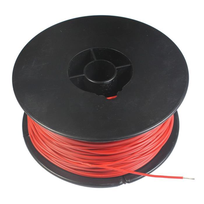 Litze Einzelader 0,25mm² 70m Spule Rot Vollkupfer OFC