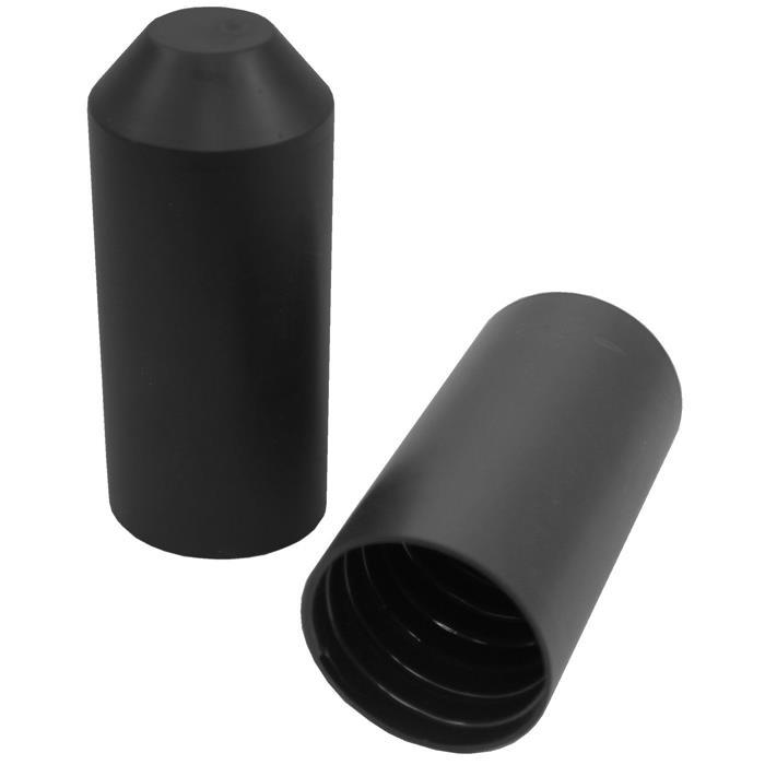 83mm ; Schrumpf Endkappe Schwarz WarmSchrumpf Endkappe 35,0 /> 16,0mm ; Länge