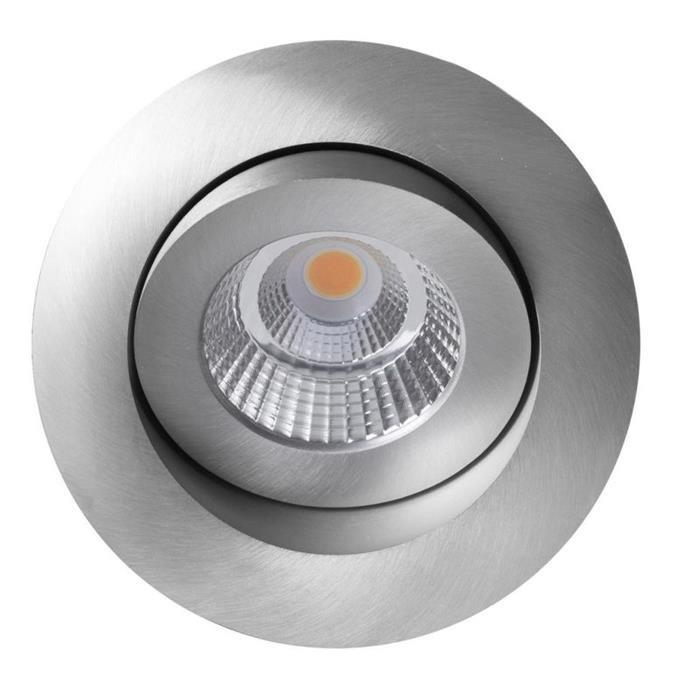 LED Deckenlampe Allround 10W 2700K / 3000K / 4000K - Alu